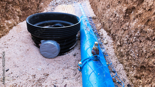 Fotografie, Tablou tuyau d'alimentation d'eau potable