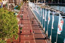 Darling Harbour Promenade, Syd...