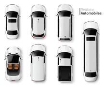 Cars Top View Set