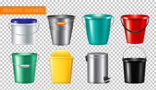 Realistic Buckets Transparent ...