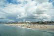 View of Santa Monica beach