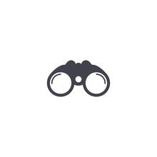 Binoculars Simple Icon