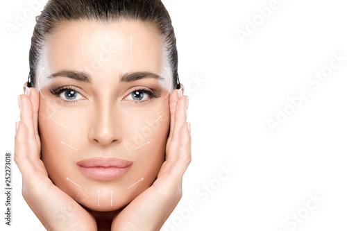 Fotografie, Obraz  Beauty Face Spa Woman