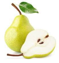 Green Yellow Pear Fruit With P...