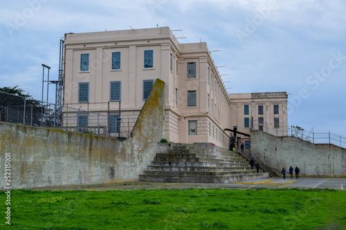 Photo  Alcatraz Penitentiary Recreation Yard