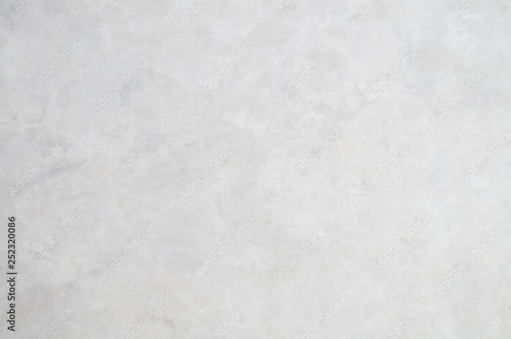 Fototapeta Light Grey marble stone background. Grey marble,quartz texture. Wall and panel marble natural pattern for architecture and interior design or .abstract background.