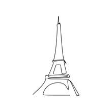 Eiffel Tower In Paris Continuo...