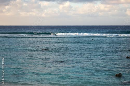 Fotografie, Obraz  Rarotonga Lagoon and Reef