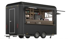 3d Rendering Of A Food Trailer...