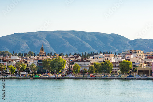 Photo  Amazing Panoramic view of Zakynthos Trade Port, Shipping, Zakynthos, Greece