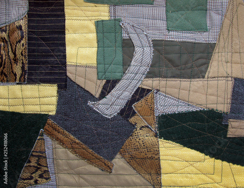 Fotomural  Pablo Picasso style patchwork