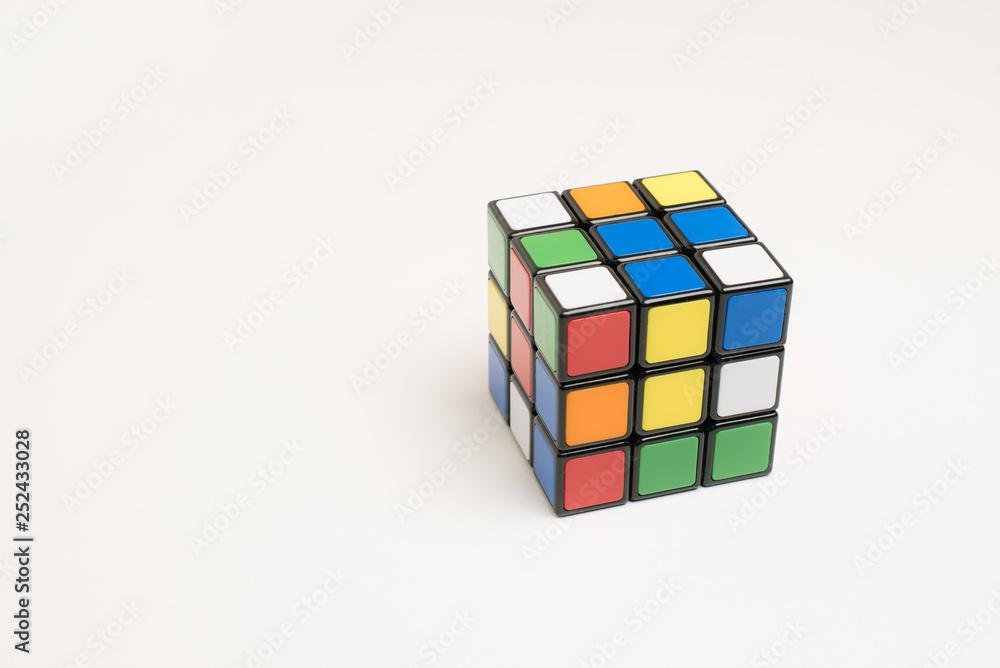 Fototapeta Puzzle cube