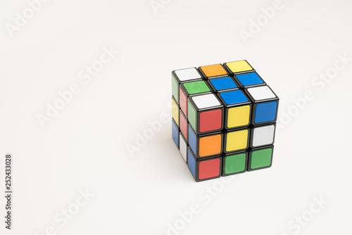 Puzzle cube Fototapete