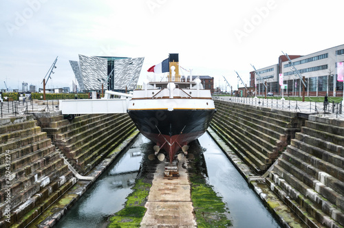 Fototapeta Titanic Docks - Belfast - North Ireland