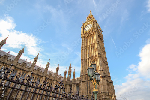 Fotografie, Obraz  Big Ben at blue sky  in London, UK