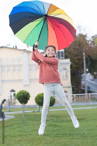 Photo  Optimistic child