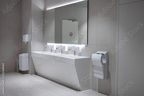 Fotomural Hygiene, modern lifestyle and sanitary fixtures concept