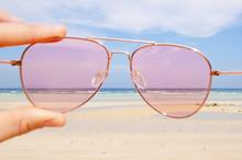 Marea Bassa Occhili Da Sole Rosa