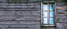 Window In The Old Wooden House...
