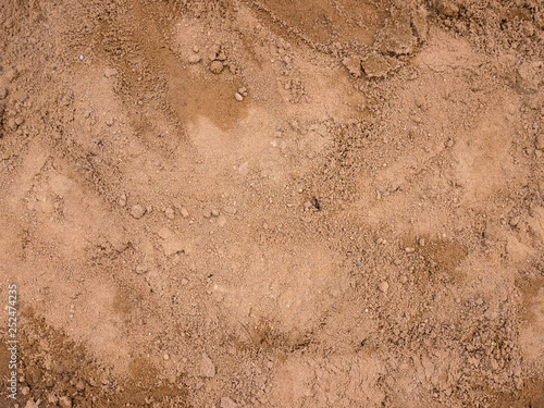 Abstract texture of soil background