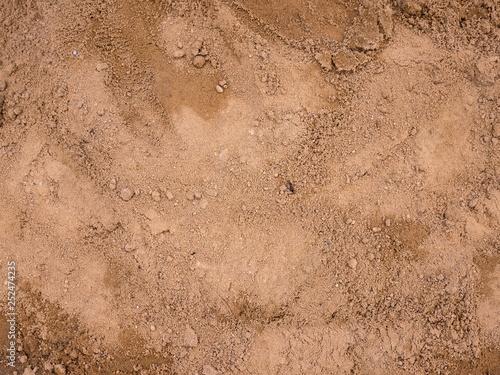 Fényképezés Abstract texture of soil background