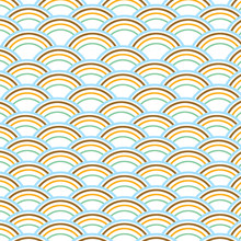 Pastel Blue, Yellow, Brown, Mint Green Digital Paper Background