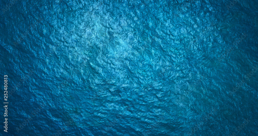 Fototapety, obrazy: Sea surface aerial view