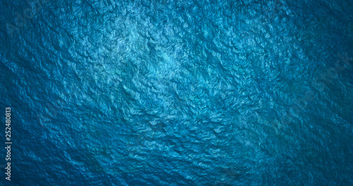 Photo  Sea surface aerial view