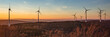 canvas print picture - windpark