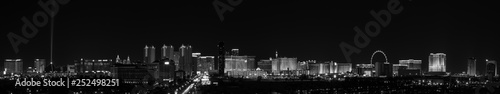 Papiers peints Las Vegas Vegas Skyline BW