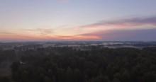 Aerial View Nature Sunrise Fog 4