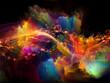 canvas print picture - Cosmic Colors.