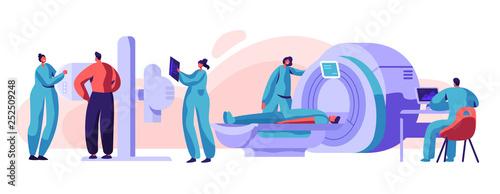 Fotografia  Man Patient Check Xray Mri Health Concept