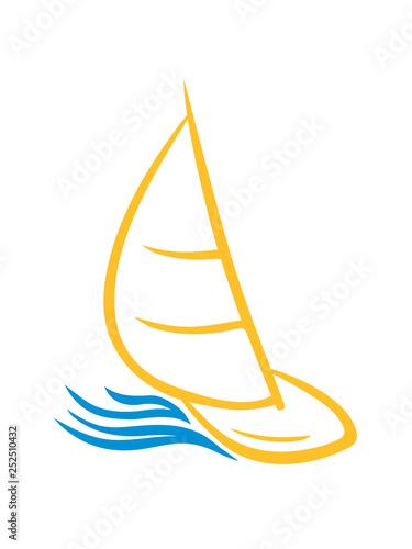 Fotografija  wellen boot segeln schiff segelboot meer wasser schwimmen verein crew kapitän ya