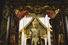 A Temple In Chaing Mai, Thailand