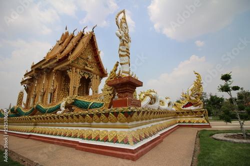 Foto  Wat Nong Hu Ling Temple at Maha Sarakham Thailand
