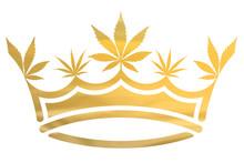 Gold Metallic Marijuana / Cann...