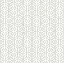 Seamless Geometric Pattern, Gray Background, Vector Graphics