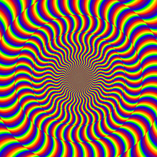 Psychedelic Optical Spin Illus...