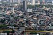 Aerial view of Manila, Philippines