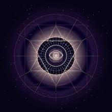 Vector Illustration Of Sacred ...