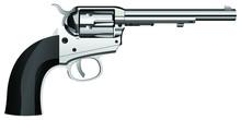 Shiny Pistol Vector Design Ill...
