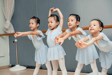 Group Of Young Chinese Kids St...