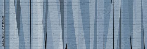 Mur avec bandes de couleurs grises