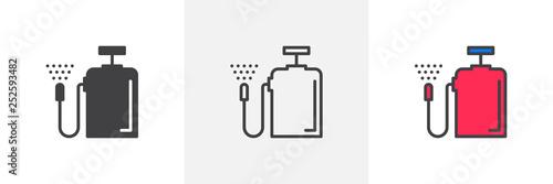 Slika na platnu Pressure sprayer icon