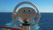 Cruise Ship, Binoculars on a ship overlooking the sea