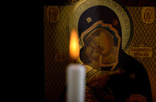 Orthodox Icon Of The Mother Of...