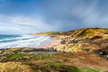 Killantringan Bay In Scotland