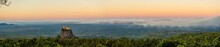 Panorma Of A Sunrise At Mount ...