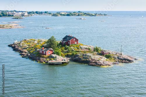 Fototapeta Islands  near Helsinki in Finland